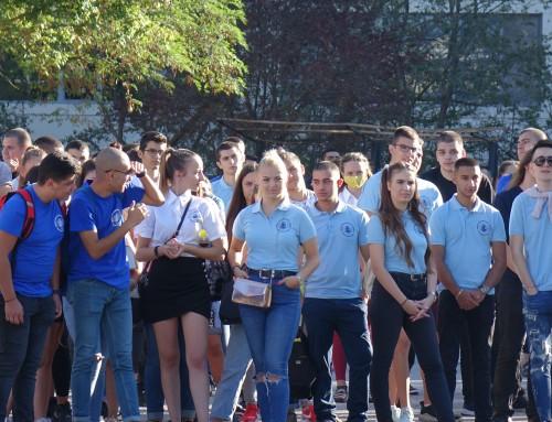 Новите студенти се запознаха с ръководството на Морско училище