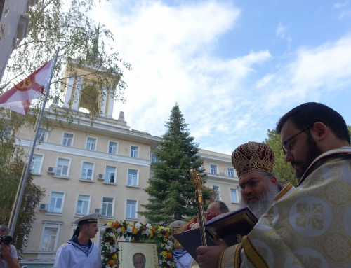 """Храм """"Св. Николай"""" в Морско училище отвори врати"""