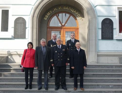 """Експертна група от НАОА ще акредитира ново професионално направление във ВВМУ """"Н. Й. Вапцаров"""""""