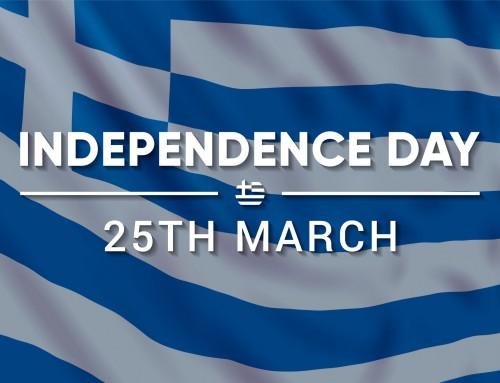 Честит Ден на независимостта на Гърция!