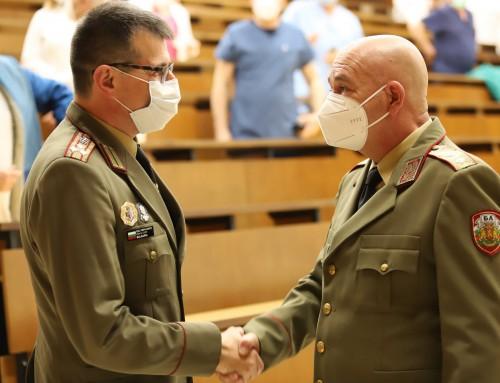 Военномедицинска академия с нов заместник-началник