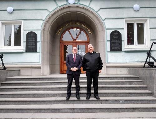 Австрийски депутат посети Морско училище