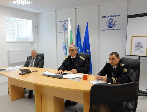 Началници на военноморски академии обсъждаха лидерската подготовка на конференция ENASC