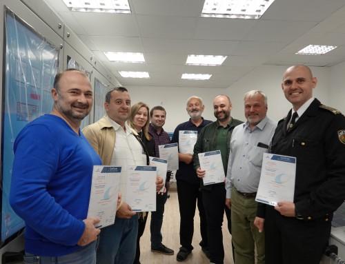 Преподаватели от Морско училище – сертифицирани за работа с нови симулатори