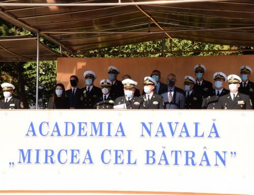 Курсант от Морско училище започна учебната година във Военноморската академия в Констанца