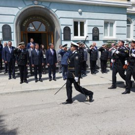Solemn meeting of the President of the Republic of Bulgaria in the Nikola Vaptsarov Naval Academy